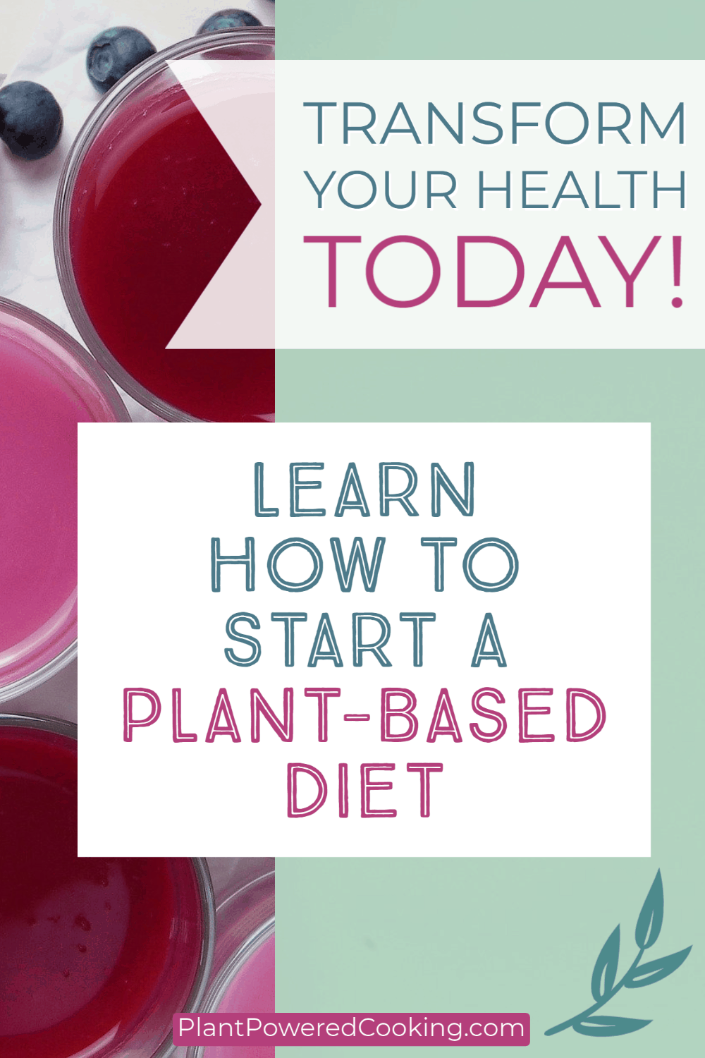 How to Start a Plant-Based Diet Pin Image